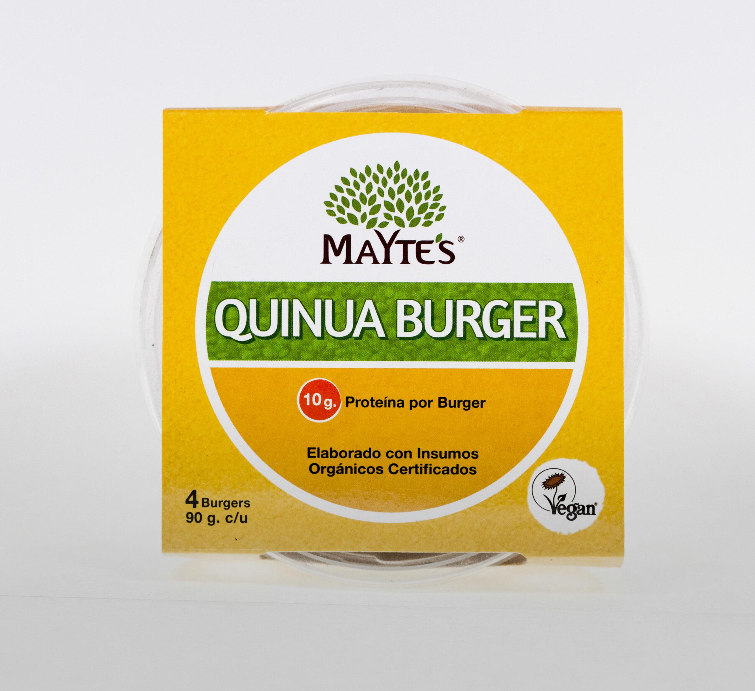 Quinua Burger Original – Pack x4