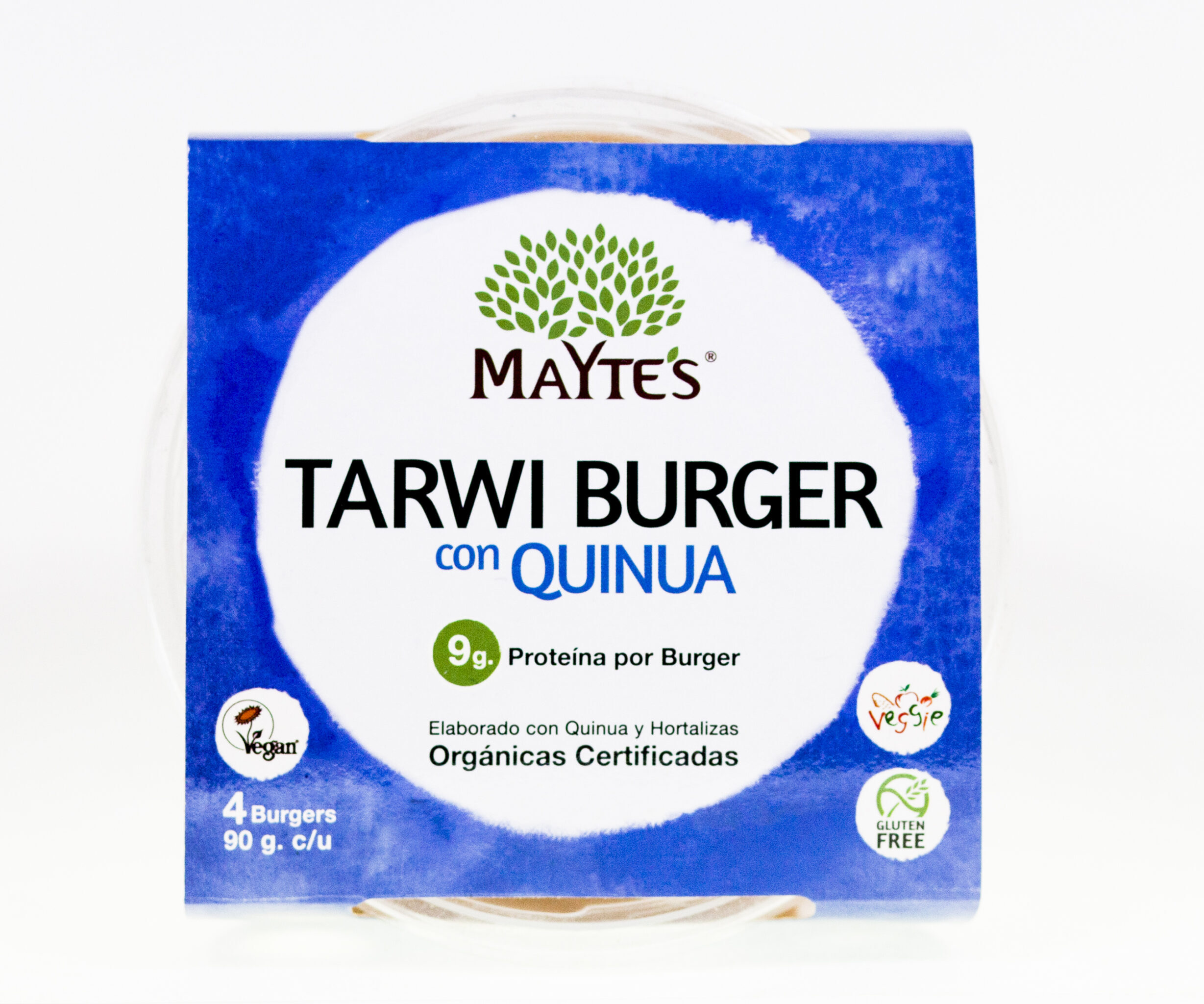 Tarwi Burger – Pack x4