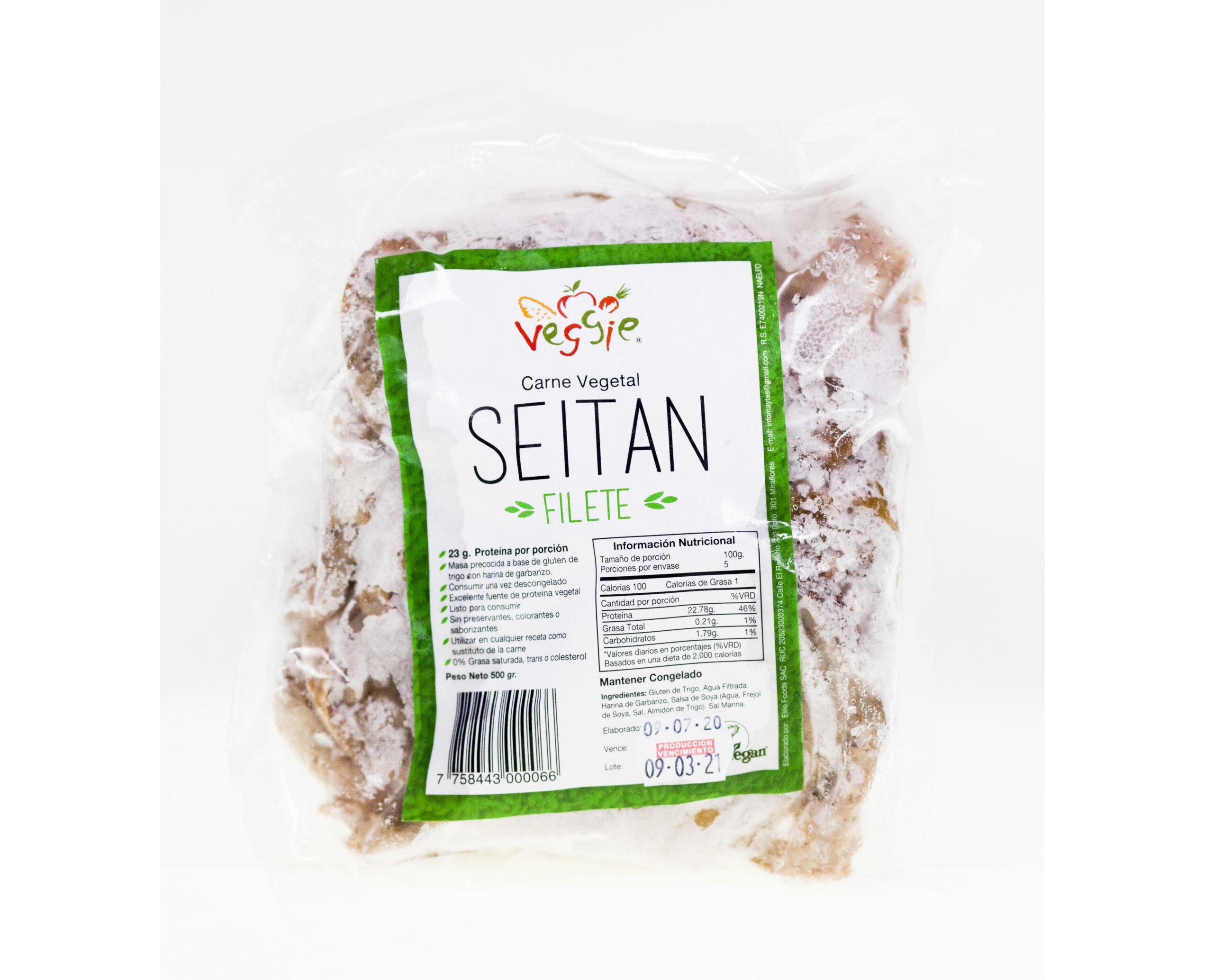 Seitán en Filete