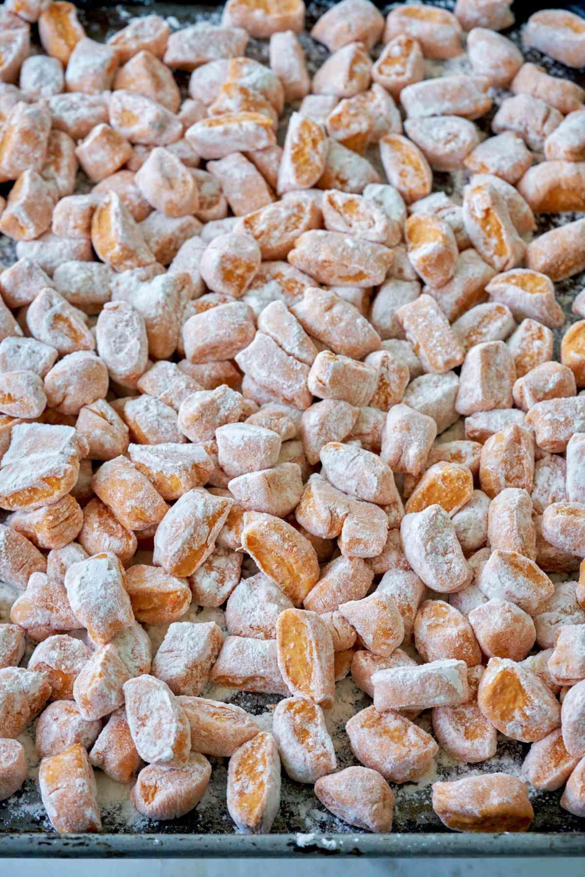 Gnocchi de Camote. 500 gr.